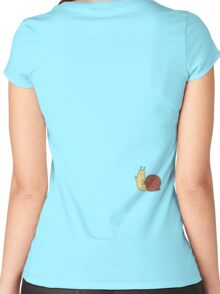 Adventure Time Snail - Small Women's Fitted Scoop T-Shirt