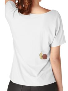 Adventure Time Snail - Small Women's Relaxed Fit T-Shirt