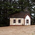 Old School House Along Route 1 in Northern Califoria by MarkBigelow