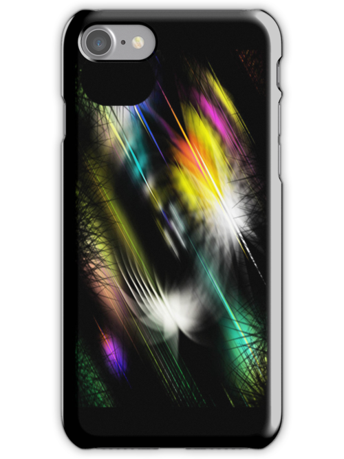Fantasy Firefly Light iPhone Case by simpsonvisuals