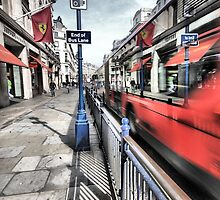 High Speed Bus, Ferrari Store Regent Street London  by nigelwatkins