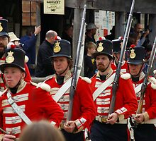 Left, Rite! The Redcoats Are Coming by David McMahon