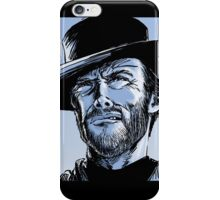 Tribute to Clint Eastwood iPhone Case/Skin