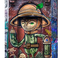 Hosier Lane Graffiti - iPhone Case by Richard  Cubitt