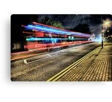 #93 Bus, Wimbledon Village Canvas Print