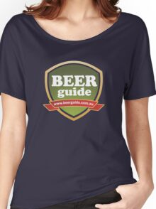 Beer Guide Basic T-Shirt Women's Relaxed Fit T-Shirt