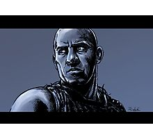Tribute to Vin Diesel Photographic Print