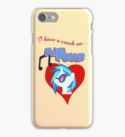 I have a crush on... DJ Pon3 iPhone Case/Skin