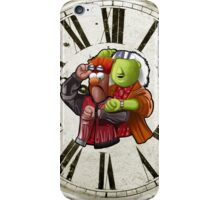 'Meep To The Future' - Beaker McMeep and Doc Honeydew iPhone Case/Skin