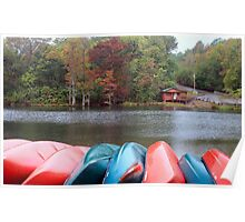 Kayaks And Fly Shop at Beavers Bend Poster