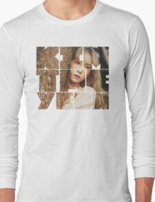 Kim Taeyeon 'I' Typography Long Sleeve T-Shirt
