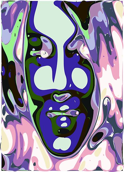 Abstract Face 6 by ChrisButler