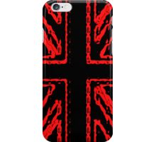 Red Union Flag iPhone Case/Skin