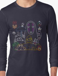 Ghibli mix v2 Long Sleeve T-Shirt