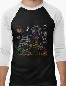 Ghibli mix v2 Men's Baseball ¾ T-Shirt