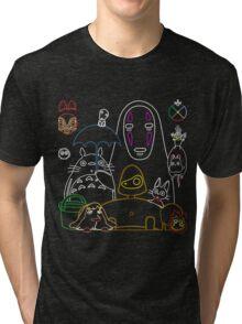 Ghibli mix v2 Tri-blend T-Shirt