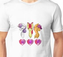 CMC With Cutie Mark Unisex T-Shirt