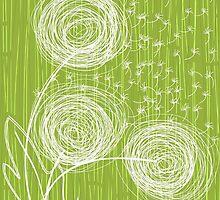 Dandelions iPhone Case by Anastasiia Kucherenko