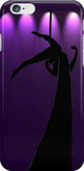 the Aerialist iPhone Case by Lisa Knechtel