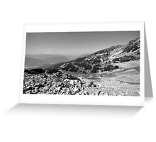 Mountain Landscape 14 Canada  Greeting Card