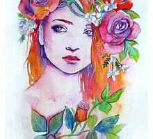 Purple Thorns by NeverBird