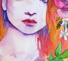 Purple Thorns Sticker