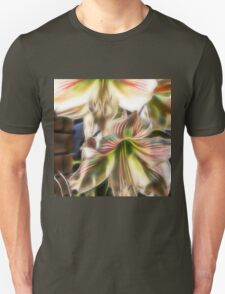 abstract amaryllis in a garden T-Shirt