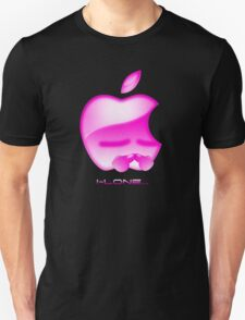 Apple I-Lone Pink T-Shirt
