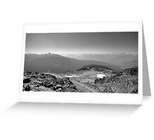Mountain Landscape 8 Canada  Greeting Card