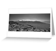 Mountain Landscape 7 Canada  Greeting Card