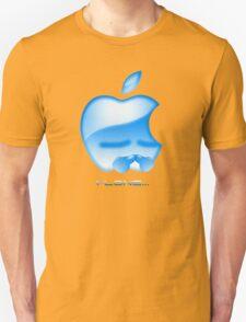 Apple I-Lone Blue T-Shirt