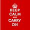 Keep Calm & Carry On by UrbanDog