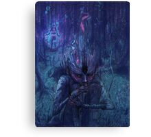 Dark Slice Canvas Print