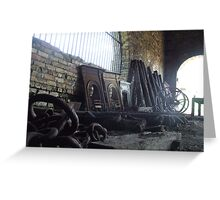 Cast Iron Pieces Greeting Card