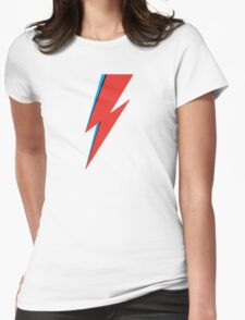 Aladdin Sane - Bowie Womens Fitted T-Shirt
