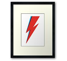Aladdin Sane - Bowie Framed Print