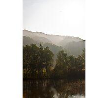 Landscape,sun,frog Photographic Print
