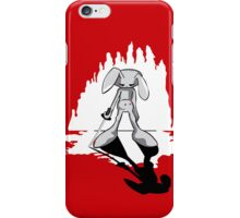 Katana Bunny iPhone Case/Skin