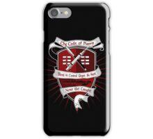 The Harry Code Dark tee (silver)  iPhone Case/Skin