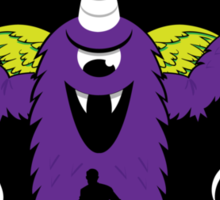 Purple People Eater Sticker