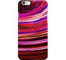 purple swish iPhone Case/Skin