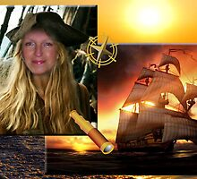 ~ A Pirate of the Seven Seas ~ by Alexandra  Lexx