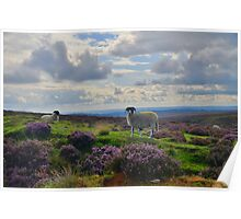 Yorkshire: A Moorland Scene Poster
