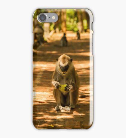 Mango Monkey iPhone Case/Skin