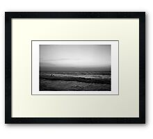 love, infinity.  Framed Print