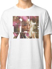Kim Taeyeon 'I' Typography 7 Classic T-Shirt