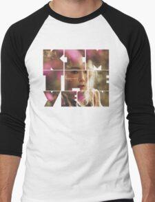 Kim Taeyeon 'I' Typography 7 Men's Baseball ¾ T-Shirt