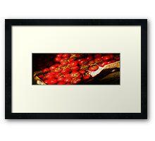 Avila Beach Tomato Box Framed Print