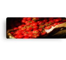 Avila Beach Tomato Box Canvas Print