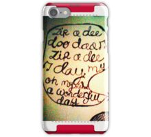 Random Funniness:) iPhone Case/Skin